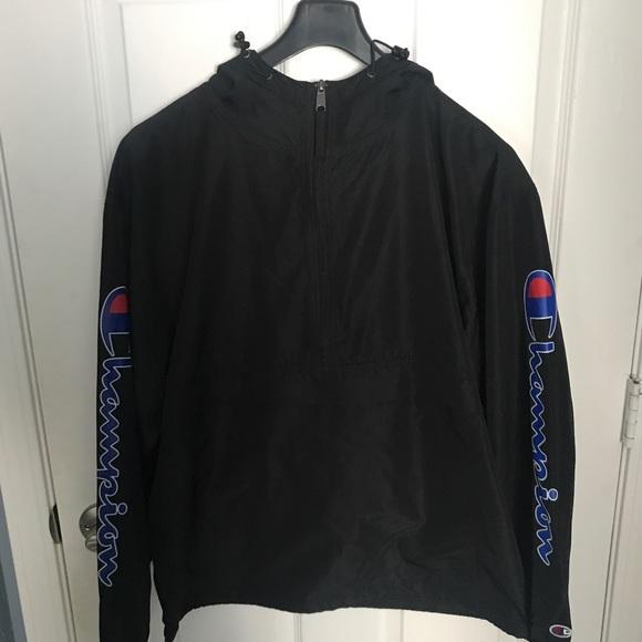 858c8ed4075c Champion Other - Champion Graphic Anorak Jacket Black